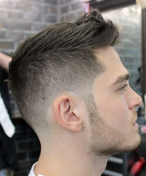 short spiky fade haircut modern short spiky haircuts 2015 for men style coupe