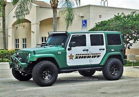 police jeep wrangler broward county sheriff jeep jeeps pinterest broward