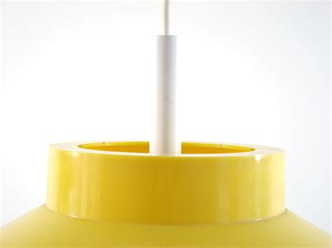 Danish vintage yellow hanging lamp   Eames, Braakman