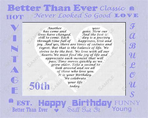 Happy 50th Birthday Quotes Happy 50th Birthday Poems Dad