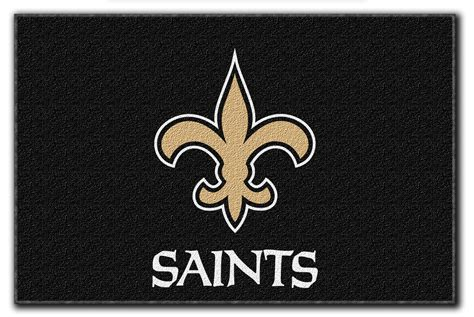 saints rug nfl new orleans saints bath mat set football bathroom rugs