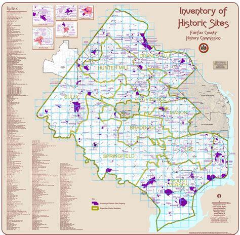fairfax county virginia gis planning the fairfax county inventory of historic planning zoning