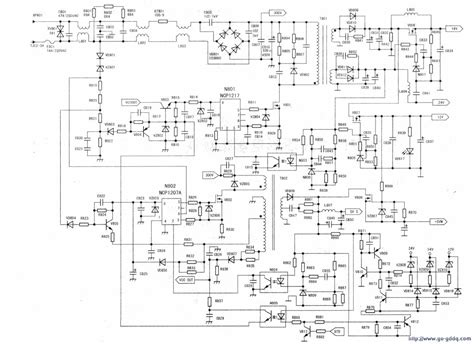 Ncp1207a 海信32英寸液晶电视电源板 rsag7 820 032 电路 广电电器网