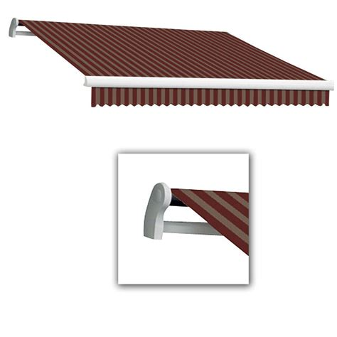 Awntech Retractable Awnings Reviews Awntech 18 Ft Lx Maui Manual Retractable Acrylic Awning