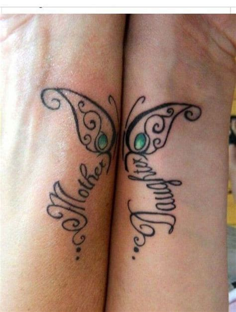 mother daughter small tattoos loving tattoos inkdoneright