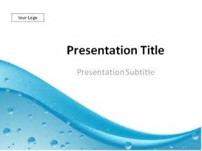 download water drops abstract background powerpoint