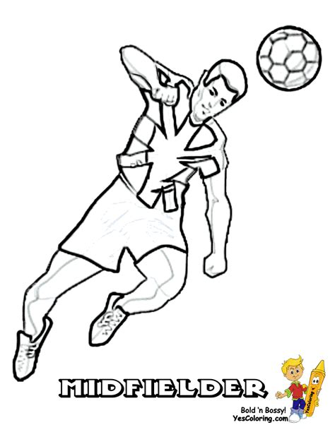 explosive soccer football colouring free english