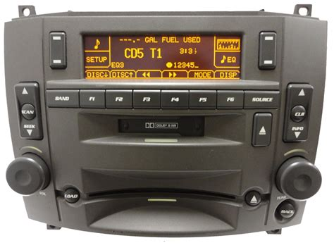 cadillac cts radio 03 04 05 06 07 cadillac cts srx 6 cd changer avec radio