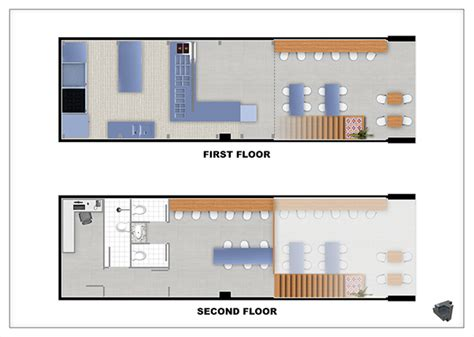 fast food restaurant layout fast food restaurant 3d layout on scad portfolios