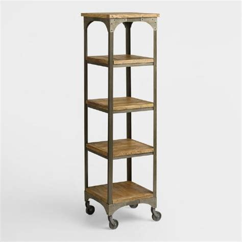 etagere aluminium cuisine wood and metal aiden 201 tag 232 re world market
