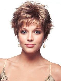 spikey hairstyles for women over 45 with fat face cute short shaggy hair cut hair cuts for thin fine hair