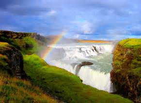 Gullfoss golden falls iceland beautiful places to visit
