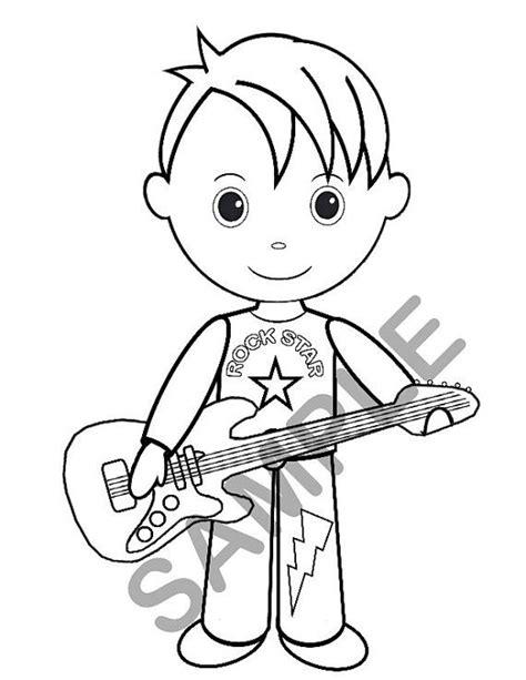 coloring page rock star rock star coloring pages ebcs 3d524c2d70e3