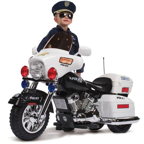 Elektro Motorrad Bersicht by Us Police Elektro Motorrad Roadking Kindermotorrad Roller
