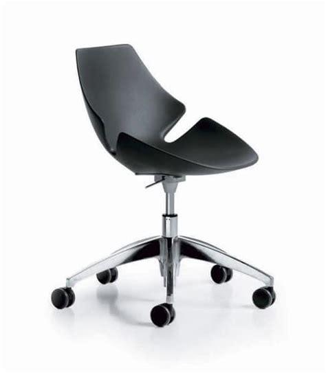 ruote sedie ufficio sedia regolabile in altezza in poliuretano rigido idfdesign