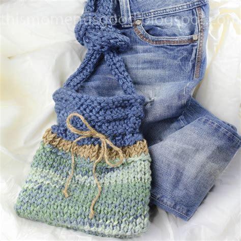 knit loom loom knit handbag pattern this moment is