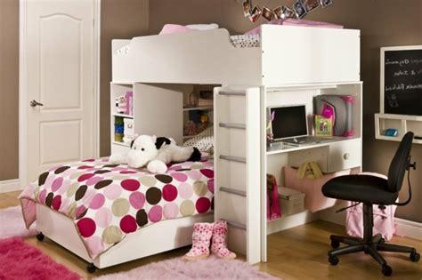 schreibtische mädchen schlafzimmer welche wandfarbe