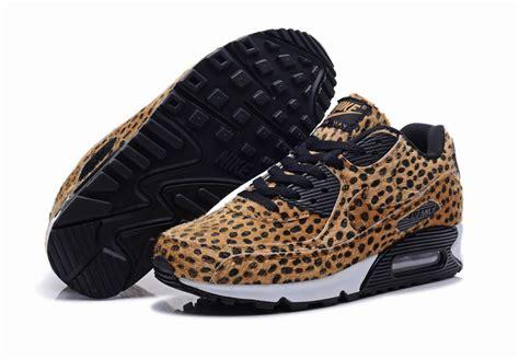 cheetah print nike air max 90 black shoes retro4