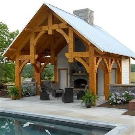 poole house plans timber frame pavilion pool house ideas 9 design