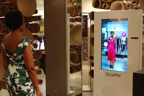 The Technology To Hit The Fitting Rooms Interactive Mirrors by Fitting Room Tailored App