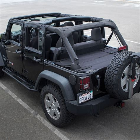 jeep wrangler convertible gpca jeep wrangler 4dr cargo freedom pack pro reversible