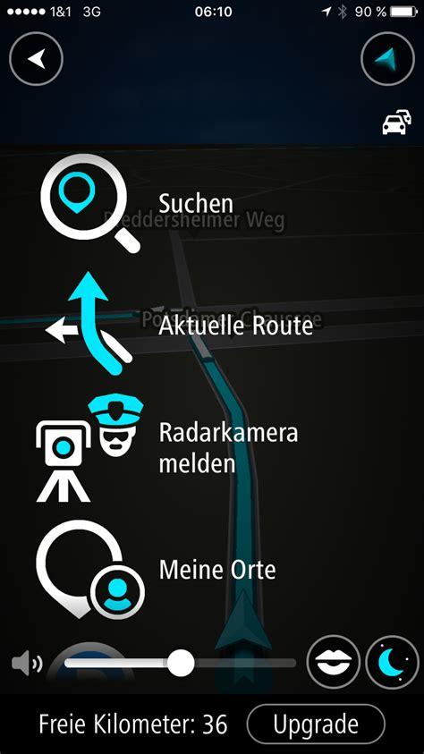 tomtom go mobile navi app tomtom go mobile f 252 r ios im test