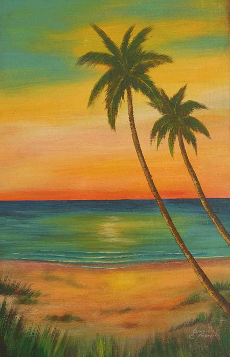 spray painter northern beaches sunset at the painting by gabriela valencia