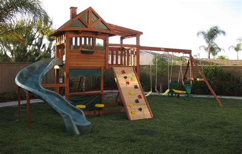 big backyard leisure time swing sets swing set plans