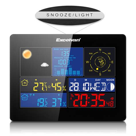 home wireless weather station temperature in outdoor