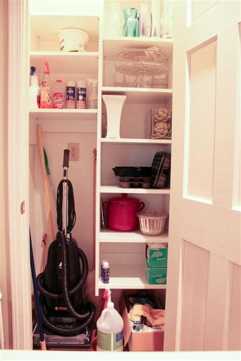 Utility Closet Organizers by Best 25 Vacuum Storage Ideas On Diy Broom