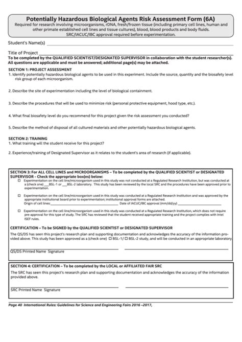 biological risk assessment template 108 risk assessment templates free to in pdf