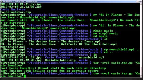 tutorial linux command line basics of the linux command line youtube