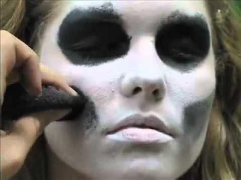 skeleton face paint easy  min tutorial youtube