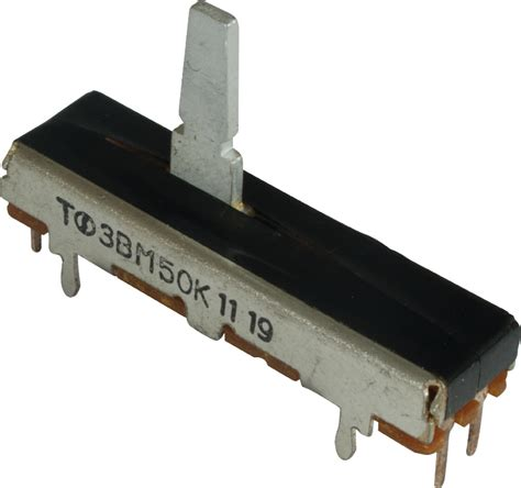 potentiometer fender 174 50k linear slide lified parts