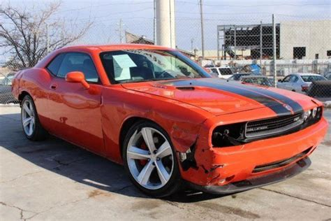 dodge challenger srt for sale 2008 dodge challenger srt8 wrecked repairable for sale