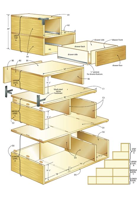 woodworking pdf plans step tansu cabinet plans pdf woodworking