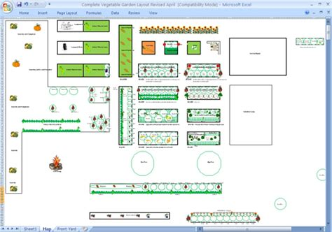 vegetable garden planner excel izvipi com