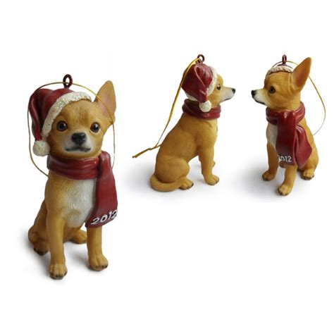 chihuahua hanging christmas tree ornaments christmas trees