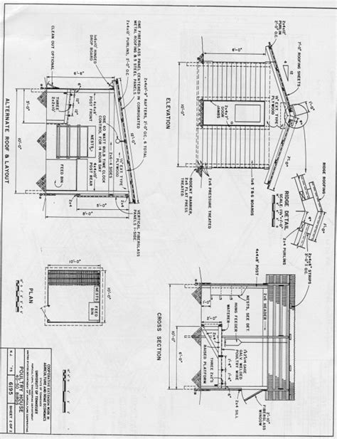 poultry housing plans beautiful chicken houses plans 8 poultry house plans smalltowndjs com