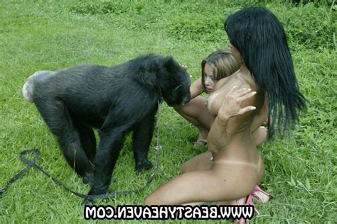 Ape girl sex