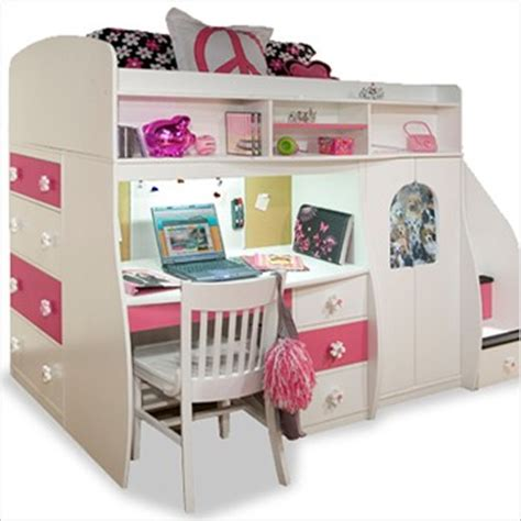 girl bunk beds with desk bunk beds with desk for girls berg furniture play and