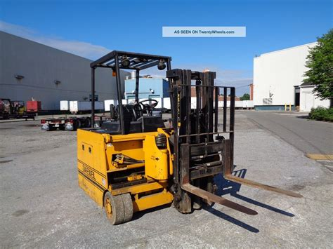 drexel swing mast forklift drexel slt30 3 000 lbs electric forklift side loader