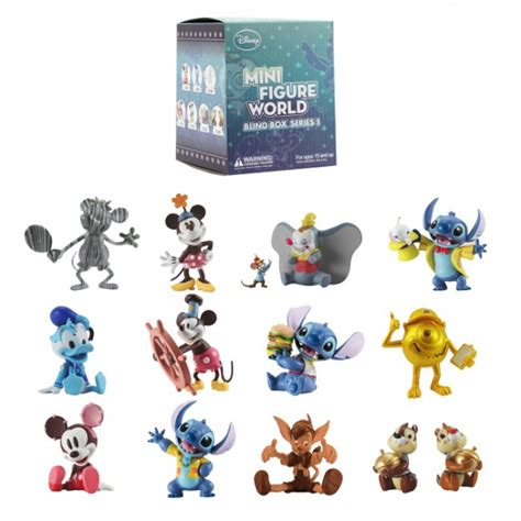 Mini Figure 1 disney mini figure world blind box series 1 garden