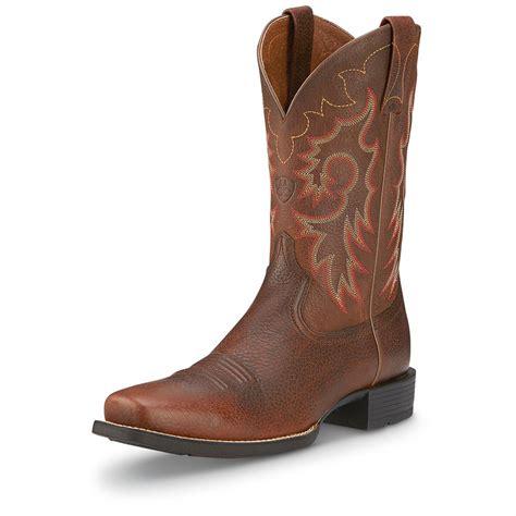 cowboy boots mens s ariat 174 rambler western cowboy boots 282582 cowboy