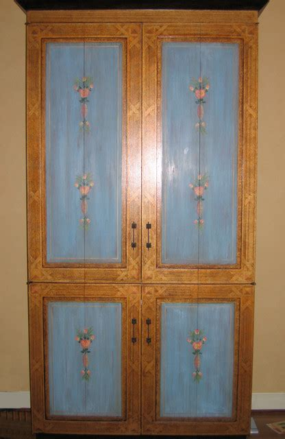 And Doug Armoire by A Copy Of An Italian Painted Armoire Painted By