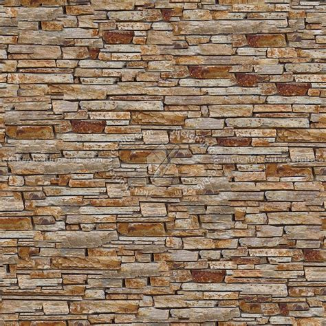 Seamless Stone Wall Texture by Stacked Slabs Walls Stone Texture Seamless 08158