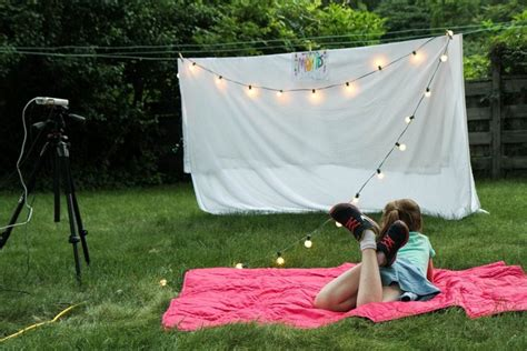 diy backyard theater five summer parties for tweens and teens superior