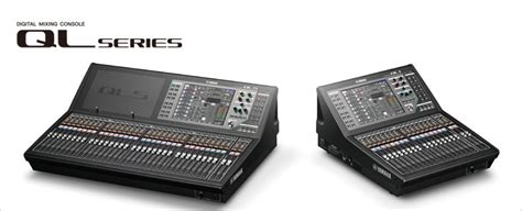 ql series mixers products yamaha
