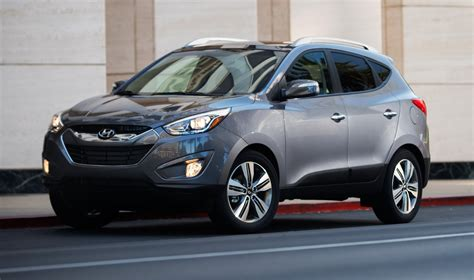 hyundai crossover 2015 hyundai tucson is trendy crossover with loaded