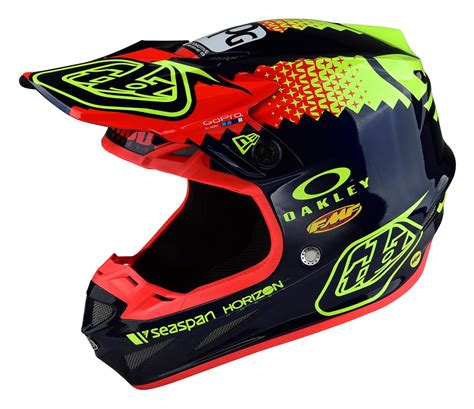 tld motocross helmets troy se4 team edition helmet 20 90 00